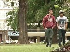 Twink (Gay);Blowjob (Gay);Latino (Gay);Couple (Gay) Lohan the hunk...