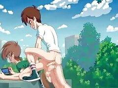 Twink (Gay) Porno animato gay 2