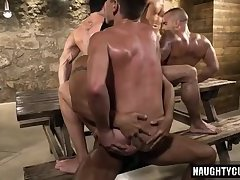 Anal,gay,twink,facial,group sex,muscled Hot gay hard fuck...
