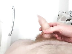 pissing;peeing;orgasm;throbbing-cock-play;massage;shower-wank;guy-in-the-shower;piss,Twink;Fetish;Solo Male;Gay;Amateur;Handjob;Uncut;Cumshot;POV HAPPY...