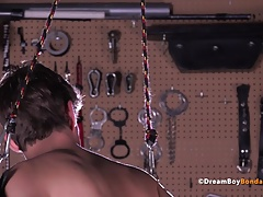Twinks (Gay);BDSM (Gay);Big Cocks (Gay);Sex Toys (Gay);Dream Boy Bondage;HD Gays;BDSM Whipping;BDSM Whip;Bondage Whipping;Whip;BDSM Bondage;Single Michael Del Ray...