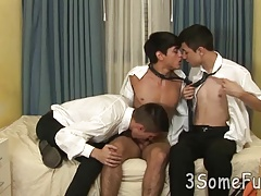 Twinks (Gay);Blowjobs (Gay);Group Sex (Gay);3 Some Fun;College Threesome;In College;Kiss;Threesome Cute college boys...