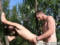 Cumshot,Rimming,Tattoo,Blowjob,Bareback,gay,outdoor,twink,hardcore,big dick, nature,bearded,step dad,step son,FamilyCock Handsome young...