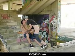 Blowjob,gay,hairy,buff,bareback sex,outdoor fuck,bareback anal,antony carter,twink porn video,riding big cock,HD BoyFun - Horny...