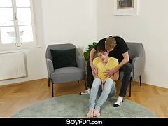 Twink (Gay);Bareback (Gay);Big Cock (Gay);Blowjob (Gay);HD Videos;Anal (Gay);Couple (Gay) Boyfun - Ruben...