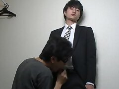Asian,Blowjob,Japanese twinks,gay,HD Japanese Twink In...