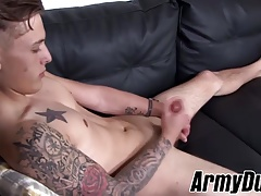 Gay Porn (Gay);Twinks (Gay);Big Cocks (Gay);Masturbation (Gay);Military (Gay);Army Duty (Gay);HD Gays Hot tattooed Chad...