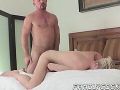 Cumshot,Masturbation,Big Cock,Blowjob,Bareback,gay,twink,hardcore,blond,jock,stepdad,FamilyCock,HD Beautiful stepson...