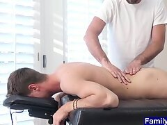 Anal,Big Cock,Hunks,Mature,Twinks,Massage,Bareback,muscle, old vs young,gay,HD Teen massaged by...
