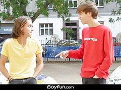 Twink (Gay);Bareback (Gay);Big Cock (Gay);Blowjob (Gay);HD Videos;Anal (Gay) Boyfun - Jake...