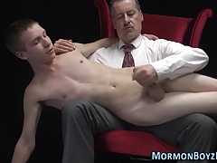 Old+Young (Gay);Spanking (Gay);Twinks (Gay);HD Gays Ass toyed mormon...