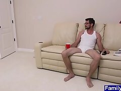 Anal,Big Cock,First Time,Mature,Twinks,Blowjob,Bareback,daddy, old vs young,gay,HD Twink stepson...