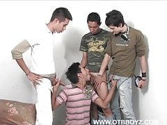 Amateur (Gay);OTB Boyz (Gay);Gay Boy (Gay);Gay Twink (Gay);Gay Cock (Gay);Gay Suck (Gay);Gay Boys (Gay) Four Horny Latin...