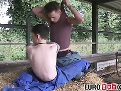 euroboyxxx;twink;euro;young;men;hardcore;blowjob;anal;big;cock;cumshot;skinny;farm,Big Dick;Gay;Cumshot Cute smooth...