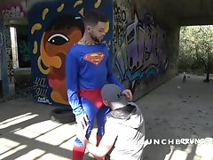 crunchboy;superman;big-cock,Bareback;Twink;Blowjob;Big Dick;Gay;Creampie;Rough Sex;Tattooed Men the french James...