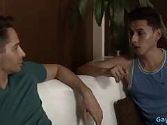 Twinks,friends,gay Hot gay dildo and...