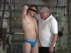 Bondage,Domination,Fetish,bdsm,spanking,twink,young,submissive,maledom, punching,BoyKinky, tied up,ball busting,old and young,gay Young submissive...