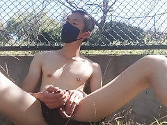 big-cock;public;outside;outdoors;exibitionist;running-shorts;sweaty;uncut;thick-cock;masked;hungkongjoe;tease,Asian;Twink;Fetish;Solo Male;Big Dick;Gay;Public;Uncut Playing with my...