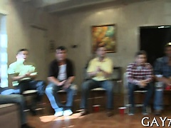 Blowjob (Gay),Gays (Gay),Group Sex (Gay),Striptease (Gay),Twinks (Gay) He receives his...
