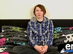 masturbation,solo,twinks,gay solo,teen,twink,brunette, couch,gay Emo twink Jack...