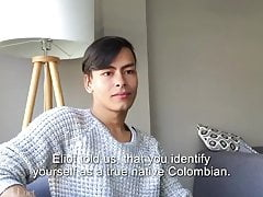Twink (Gay);Big Cock (Gay);Latino (Gay);Masturbation (Gay) Santiago Arias...