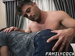 Masturbation,Big Cock,Blowjob,Bareback,daddy,gay,twink,hardcore,big dick,cum in mouth,jock,FamilyCock,HD Stepdad gets his...