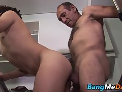 Big Cock,Mature,Blowjob,daddy,twink,doggy style,riding,hairy,bangmedaddy,old and young,gay,HD Daddy doggy...