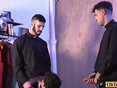 Anal,Big Cock,Mature,Threesome,Twinks,Blowjob,Bareback,group sex, old vs young,gay,HD Old priests catch...