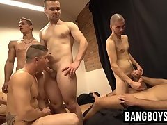 Anal,Cumshot,Gangbang,Blowjob,Bareback,twink,hardcore,orgy,bigcock,BangBoysPass,gay Deviant twinks in...