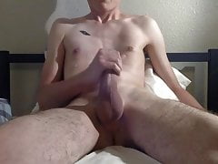Twink (Gay);Big Cock (Gay);Masturbation (Gay) After Work